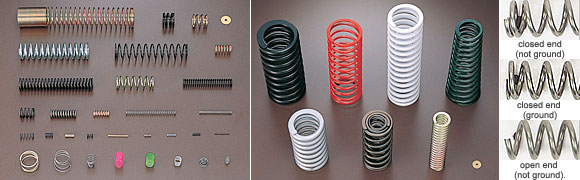 Micro/tiny/small compression springs are also available!